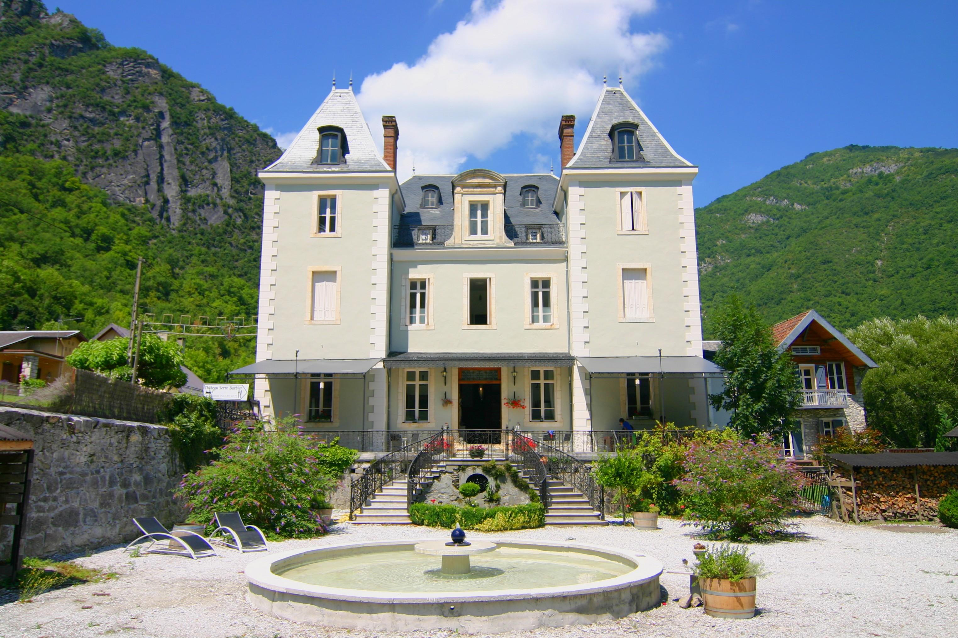 Hotel chateau Serre Barbier